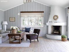 Living Room Design Ideas for 2019 Home Living Room, Living Area, Living Room Designs, Tv Decor, Room Decor, Rental Makeover, Interior Exterior, Interior Design, Building A Cabin