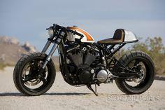 Harley Sportster Cafe Racer Mulato ~ Return of the Cafe Racers