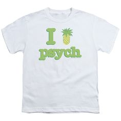 PSYCH I LIKE PSYCH Youth Short Sleeve T-Shirt