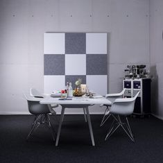 recycled PET | designed acoustic tiles by SPÄH designed acoustic #architonic #nowonarchitonic #interior #design #furniture #acoustic #wall #panel