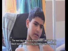 Palestinian boy, 12, just another target The bullet struck Atta Sabah, 12, in the stomach and exited through his back, severing his spinal cord and causing paralysis from the waist down.