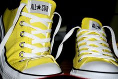 Yellow Converse are amazing