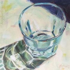 "Daily Paintworks - ""353 Glas"" - Original Fine Art for Sale - © Anja Berliner"