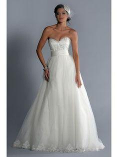 Tulle Sweetheart Detachable Bodice Ball Gown Wedding Dress