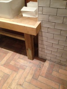Herringbone tile pattern ideas - Lubelska Flagstone Flooring, Brick Flooring, Wooden Flooring, Wooden Floor Pattern, Herringbone Tile Pattern, Floor Patterns, Tile Patterns, Pattern Ideas, Terracotta Floor