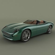 xk 180 3d obj - Jaguar XK 180... by desmonster