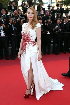 Jessica Chastain. Cannes Closing Ceremony - May 28 2017