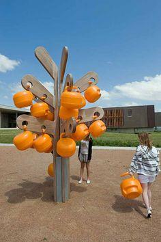 Trees for Lycée Germaine Tillon by Matali Crasset - Dezeen