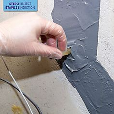 Dricore Pro Concrete Repair - Crack Injection   The Home Depot Canada