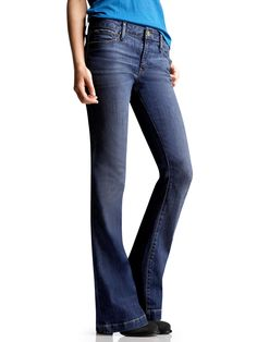 My fav....GAP jeans long and lean....i have 7 pair