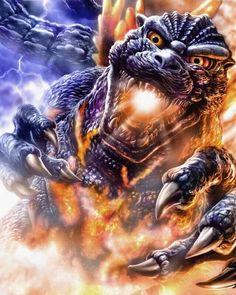 Godzilla 1995 (Burning Godzilla)