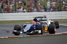 Felipe Nasr FP2 Silverstone
