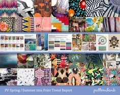 The Ultimate Spring/Summer 2014 Print Trend Report Collection   3 x PDF Bundle trend forecasts