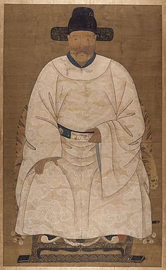 Ancestor Portrait, Qing dynasty, 1644-1911  Painting, Ink and color on silk, Framed: 71 1/2 x 42 1/4 in. (181.61 x 107.31 cm); Image: 61 1/2 x 37 in. (156.21 x 93.98 cm)