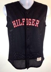 Vintage 90s Tommy Hilfiger Athletics Baseball 85 Jersey Spell Out | eBay