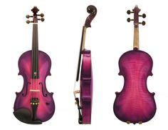Acoustic Electric Violin - Made by John Importuno Violin Instrument, Violin Art, Violin Music, Pink Violin, Music Music, Music Stuff, Sheet Music, Piano, Electric Violin