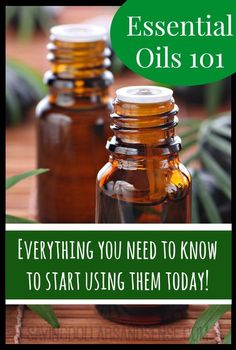 Essential Oils 101 Everything You Need to Know to Start Using Them Today!!