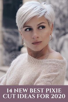 14 New Best Pixie Cut Ideas for 2020 – Coiffures Cheveux Short Grey Hair, Short Hairstyles For Thick Hair, Short Straight Hair, Short Hair With Bangs, Short Hair With Layers, Hairstyles Over 50, Curly Hair Styles, Cool Hairstyles, Short Hair Cuts For Women Over 50