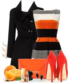 """""""You know what they say...Life is like a box of...Oranges!"""" by bella8 on Polyvore"""