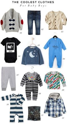 The Coolest Baby Boy Clothes