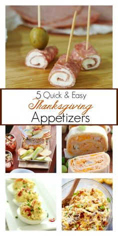 5 Quick And Easy Thanksgiving Appetizer Recipes - Love More Live Blessed