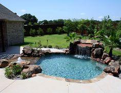 Custom Pool Ideas backyard ideas this custom pool Ft Worth Custom Pool Design Photos Weatherford Keller