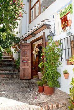 #Frigiliana, mehrfach als schönstes Dorf Spaniens ausgezeichnet. Bei #Málaga,   Costa del Sol.