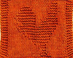Knitting Cloth Pattern - ROOSTER - PDF