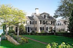 Browse the exterior and interior images of Harbor Restoration, a 1682 vintage home along Edgartown Harbor on the island of Martha's Vineyard. The property includes the main home and a guest house.