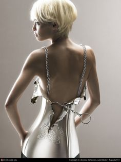 Champagne Dress by Andrea Bertaccini | 3D | CGSocietylarrgrid-buttonrarrproject-thumbnail-commentsfooter-logo