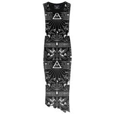 I love the Killstar label in general, it appeals to the Goth inside of me (and often outside) and I love this Magick Maxi Dress