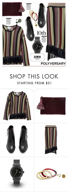 """Celebrate Our 10th Polyversary!"" by paculi ❤ liked on Polyvore featuring Anya Hindmarch, Piel Leather, Nicki Minaj and Illamasqua"