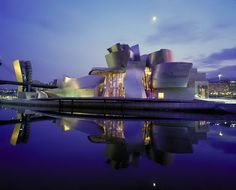 Guggenheim Museum, Spain...one of the very best!!