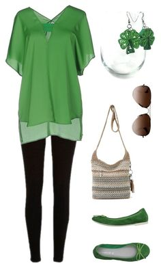 """""""Modern leprechaun"""" by herpaperparadise on Polyvore featuring River Island, PrimaDonna, Annarita N., Ray-Ban and modern"""