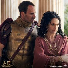 How much longer can Cornelius and Claudia stomach Pilate's brutality on A.D. The Bible Continues?   A.D. The Series