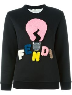 Fendi ムートンロゴ入り スウェット - Apropos The Concept Store - Farfetch.com