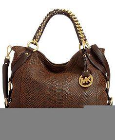 MICHAEL Michael Kors Handbag, Tristan Large Tote - Tote Bags - Handbags  Accessories - I love this!