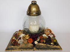Handmade Christmas decoration with lantern Handmade Christmas Decorations, Snow Globes, Lanterns, Home Decor, Decoration Home, Room Decor, Lamps, Home Interior Design, Lantern