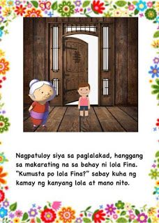 Teacher Fun Files: Maikling Kwento: Si Francisco Magalang Moral Stories For Kids, Short Stories For Kids, Kids Story Books, Tagalog, Reading Passages, Best Teacher, Filipino, Puppets, Banner