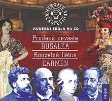 Hudební škola na CD Nebojte se klasiky! 9-12 komplet opery Rusalka, Mafia, Roman, Film, Movies, Movie Posters, Catalog, Movie, Film Stock