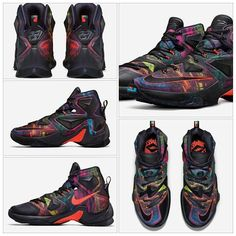 """Limited sizes are available in the """"Akronite"""" Lebron 13!  Be sure to hit the site and guarantee yours right here at www.Amillibound.com.  #amillibound #nicekicks #solecollector #sneakernews #dnpsneaks #bubbajumpkicks #nike #jumpman23 #love #instagood #me #follow #like #tagsforlikes #instadaily #igers #sneakercrave #trustedkicks #peepmysneaks #lacedupshots #hypebeast #suavesneaks #kotd by amillibound #SoleInsider"""
