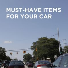 10 things you should keep in your car (but probably don't) onstarconnections.com