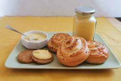 Lemon curd (diabetikus) Lemon Curd, Stevia, Garlic, Pudding, Vegetables, Desserts, Food, Tailgate Desserts, Lemon Custard