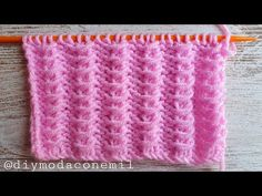 Knitting Stitches, Knitting Patterns, Origami, Crochet Gratis, Sewing, Youtube, Projects, Ideas, Knit Baby Patterns