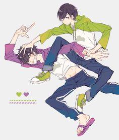 Anime Boys, Kuroko Chibi, How To Draw Sans, Anime Vines, Osomatsu San Doujinshi, Ichimatsu, Cartoon Movies, Light Novel, Art Studies