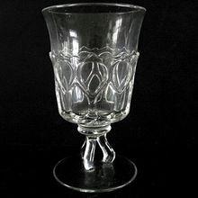Antique Celery Vase Teardrop and Thumbprint Twisted Stem 1890s Unique