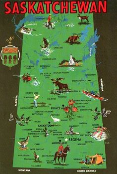 Find Grenfell one hour east of Regina. Home of the Spitfires senior hockey team, Grenfell gems baseball team, and minutes away from the scenic Qu'Appelle Valley. I Am Canadian, Canadian History, Capital Of Canada, Pictorial Maps, Canada Eh, Map Globe, Canoe Trip, Vintage Maps, Canada Travel