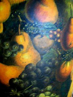 FRUIT HANGING IN THE GARDEN OF EDEN VASE ...Detailed