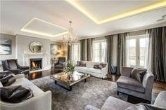 grey luxury living room