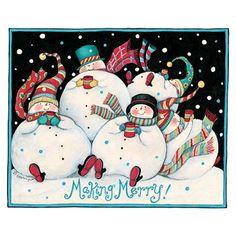 merry making Snowmen